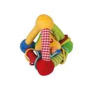 Bigjigs Toys textilní aktivní trojúhelník