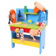 Bigjigs Toys drevené hračky - pracovný ponk