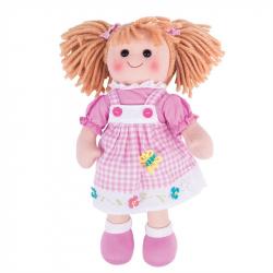 Bigjigs Toys látková bábika Eva 35 cm