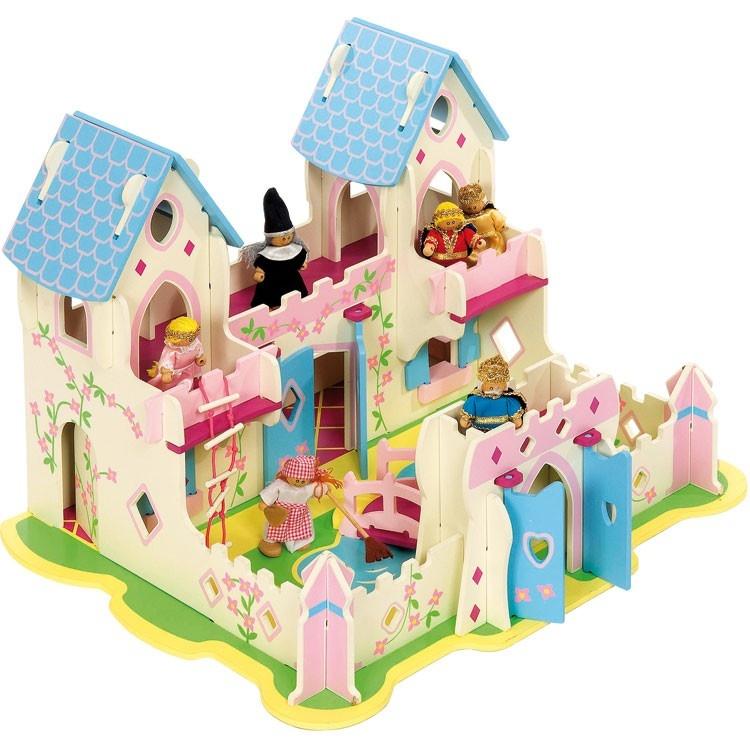 Dřevěný palác pro princezny