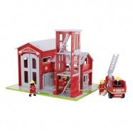 Bigjigs drevený set hasiči