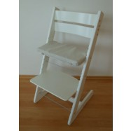 Rosnące krzesełko JITRO KLASIK białe