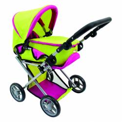 Bino wózek dla lalek z gondolą