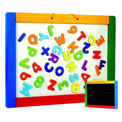 Magnetická tabule na pověšení s písmenky