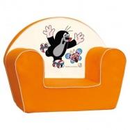 Bino - Fotel dla dzieci Krecik, pomarańczowy