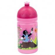 Bino - Zdravá lahev Krtek růžová