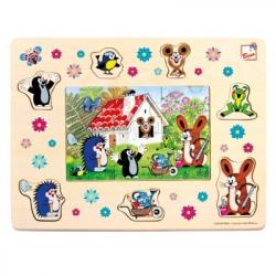 Bino - Vkládací puzzle -  Krteček a přátelé
