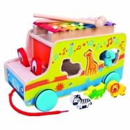 Auto vkádačka s xylofonem
