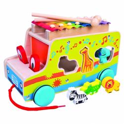 Auto vkádačka s xylofónom