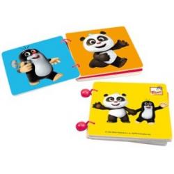 Bino Knižka Krtko a Panda farebná