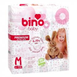 Bino Plienky BABY PREMIUM M 6x10 ks s darčekom