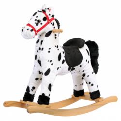 Bino Plyšový hojdací kôň Grošák