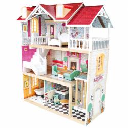Bino Trojposchodový domček pre bábiky