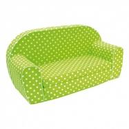 Bino - Mini kanapa dla dzieci, zielona
