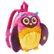 Plecak z szelkami dla malucha Sowa Oops