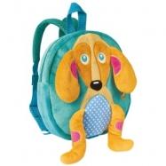 Bino Plyšový batoh pes