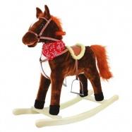 Houpací kůň plyšový se zvuky a pohyby Goldy