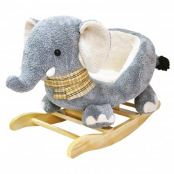 Hojdacie plyšový slon