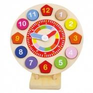 BINO Drewniany zegar