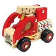 Bino - Drevené auto hasiči