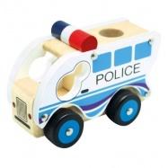 Bino - Drevené auto polícia
