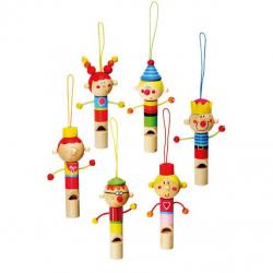 Drevené hračky -Drevené hudobné nástroje - Drevená píšťalka