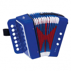 Drevené hračky - hudobné nástroje - Ťahacia harmonika