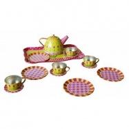 Dřevěné hračky - Dětský čajový set