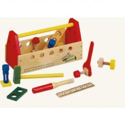 Drevené hračky - Pracovný stôl - Pracovná brašna
