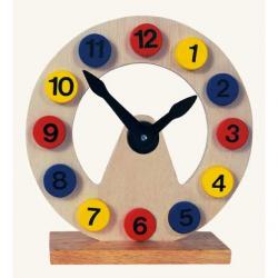 Drewniany zegar stojący