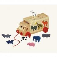 Bino Ciężarówka ze zwierzętami