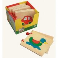 Drevené hračky - Drevená knižka 1ks
