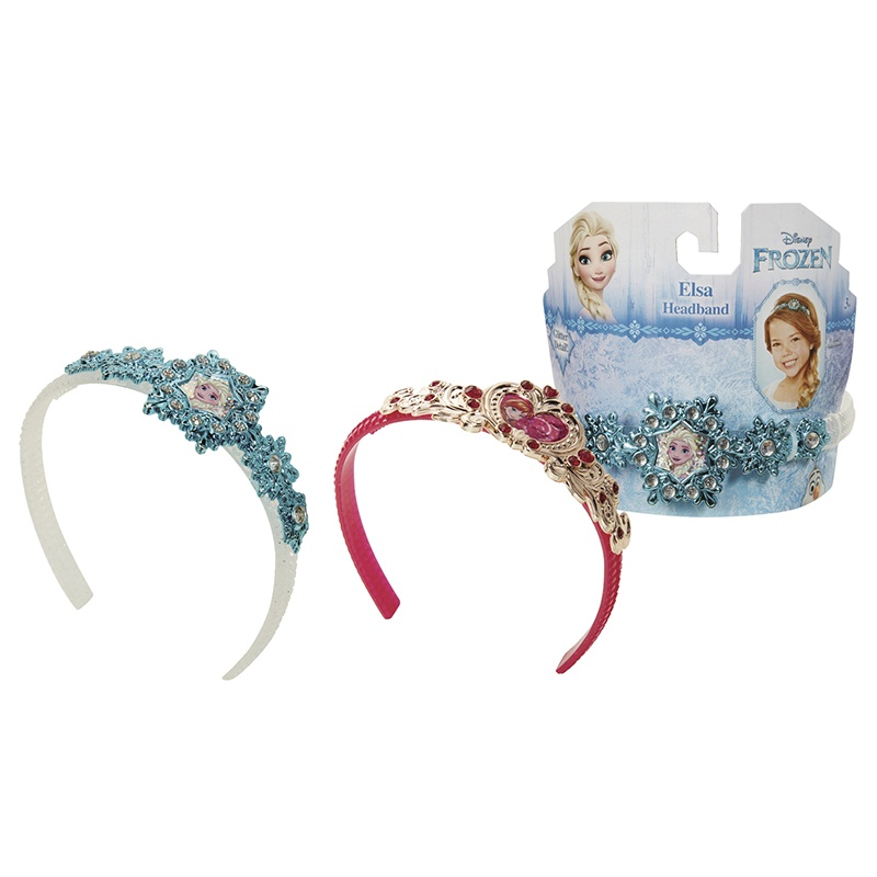 Frozen - Ledové království čelenka princezny Anny a Elsy