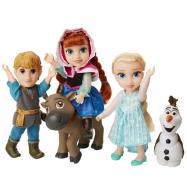 Frozen 2: Velký set s figurkami Anna, Elsa, Olaf, Kristof 15 cm