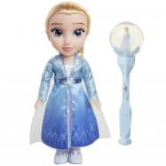 Frozen 2: panenka Elsa a sněhová hůlka