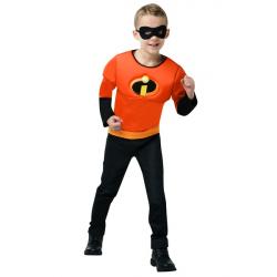 Karnevalový kostým - The Incredibles 2 - kostým tričko s vypchávkami a maska