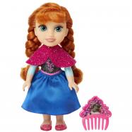 Frozen 2: panenka Anna 15 cm s hřebínkem