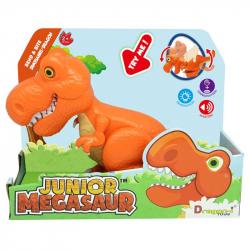 Junior Megasaur: T-Rex - pomarańczowy