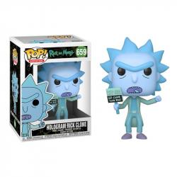 Funko POP Animation: Rick & Morty - Hologram Rick Clone