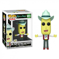 Funko POP Animation: Rick & Morty S2 - Mr. Poopy Butthole Auctioneer