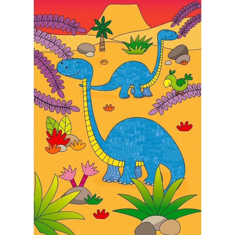 Magia wody dla najmłodszych - Dinozaury