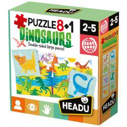 Head: Puzzle 8 + 1 Dinosaury