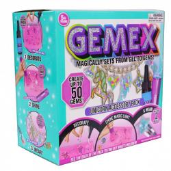 GEMEX: Tematyczny zestaw z lampką - Jednorożec