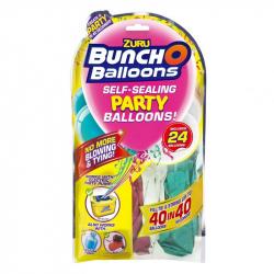 Zuru - party balóniky (ružová, tyrkysová, biela)