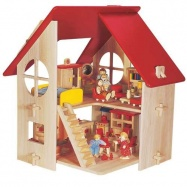 Domeček pro panenky - Jednopatrový
