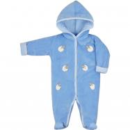 Zimní kojenecká kombinéza Bobas Fashion Ovečky modrá