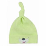 Bavlnená kojenecká čiapočka Bobas Fashion Lucky zelená