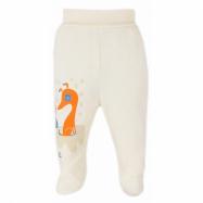 Dojčenské polodupačky Bobas Fashion Mini Baby smotanové