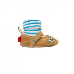 Detské topánočky Bobo Baby 6-12m béžove