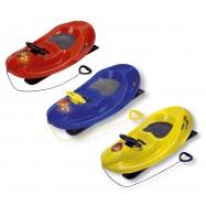 Boby s řízením a se zvukovým a světelným alarmem Snow Car 4x4 Deluxe